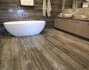 Unicom Traces Charcoal Polished porcelain tiles perth
