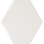 Rhombus Wall tile white