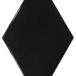 22748 Rhombus Wall black diamond shape tiles perth