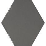 22751 Rhombus Wall dark grey diamond shape wall tiles perth