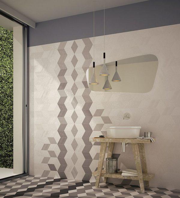 Rhombus Dark Grey Gloss 5
