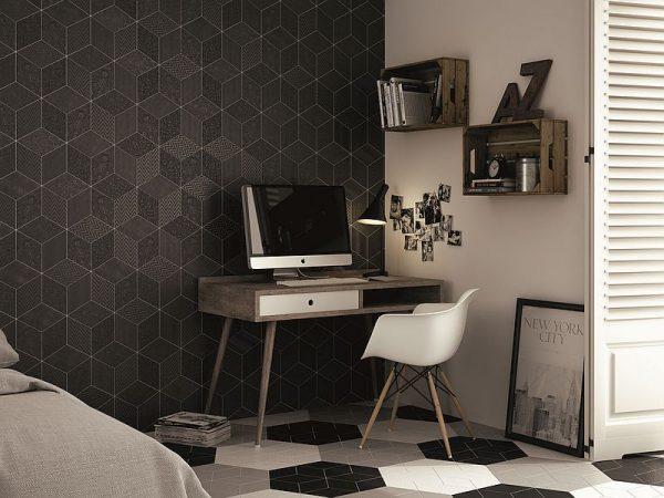 Rhombus Dark Grey Gloss 10
