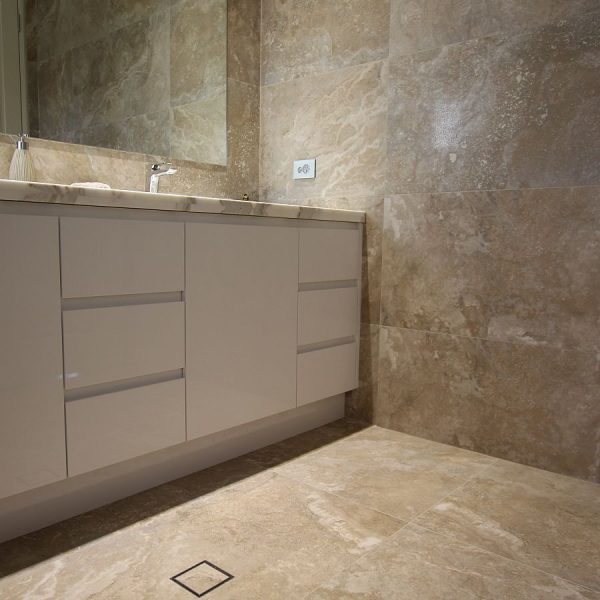 Alabastro Beige bathroom floor wall tiles Mindarie