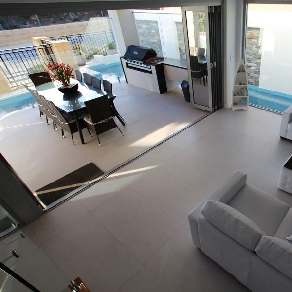 Archistone Limestone Bianco stone look floor wall tiles Perth 8