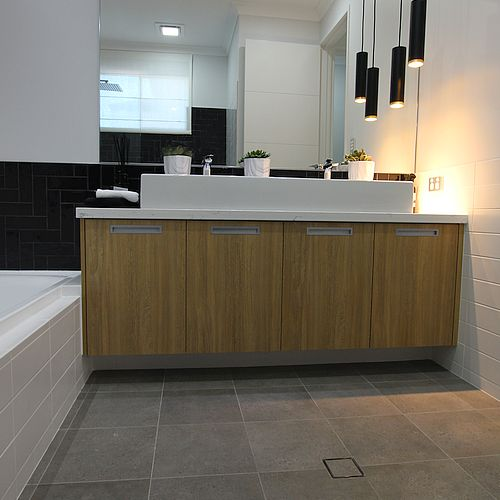 BTP Downtown Grigio Lappato Rectified Porcelain Wall and Floor Tiles Perth 10