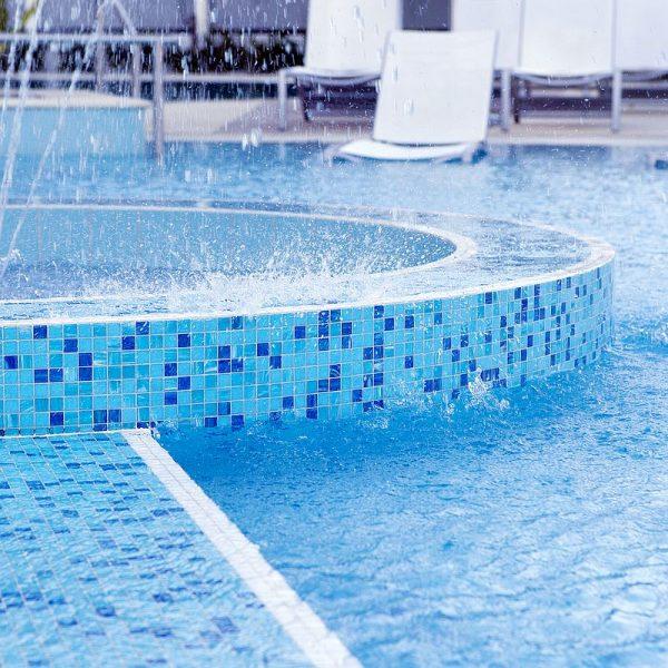 Crown Resort Perth, Western Australia swimming pool glass mosaics by www.ctsupplies.com.au 10