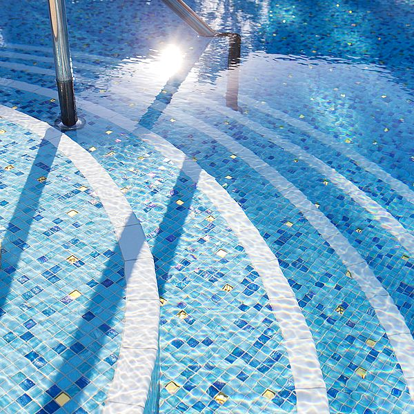 Crown Resort Perth, Western Australia swimming pool glass mosaics by www.ctsupplies.com.au 3