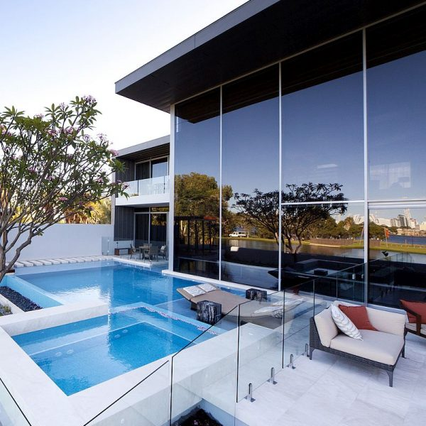 Crown Resort Perth, Western Australia swimming pool glass mosaics by www.ctsupplies.com.au 8