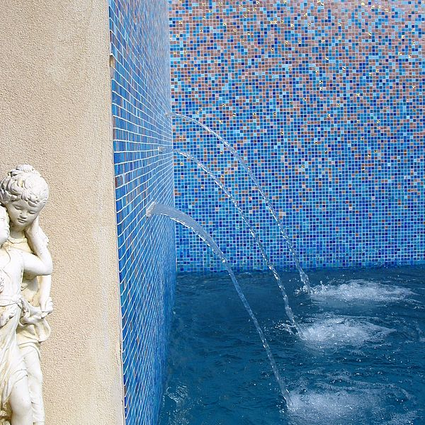 Custom Shading Blend glass mosaics Perth - Martin Cuthbert Landscapes 3