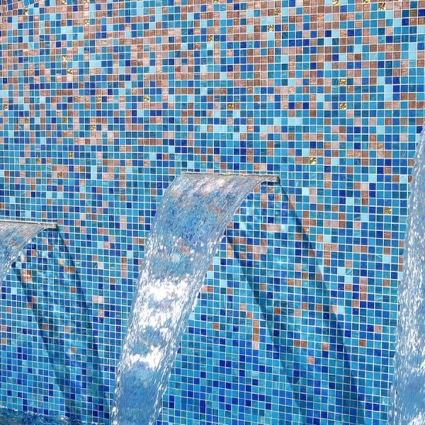 Custom Shading Blend glass mosaics Perth - Martin Cuthbert Landscapes 5