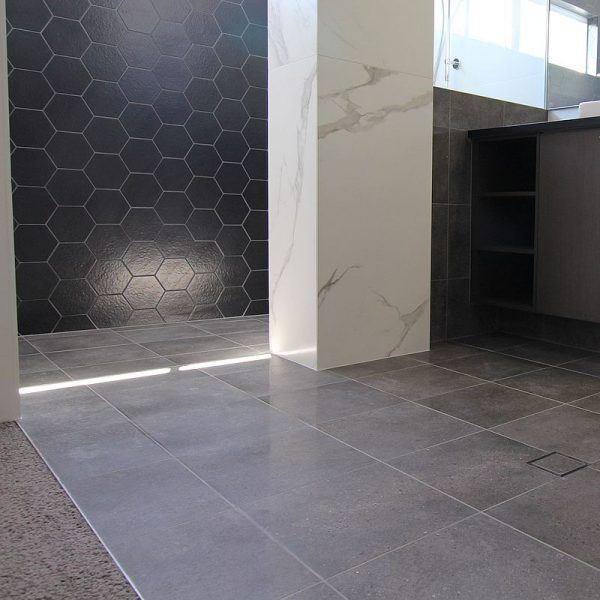 Downtown Charcoal Lappato floor wall tile shops perth western australia 2