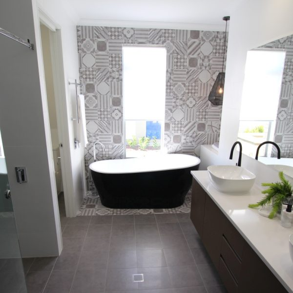 Supergres Art Cementine Bathroom Floor Wall Tiles Perth 6