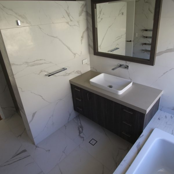 Vallenlunga Statuario marble look bathroom tiles perth 4