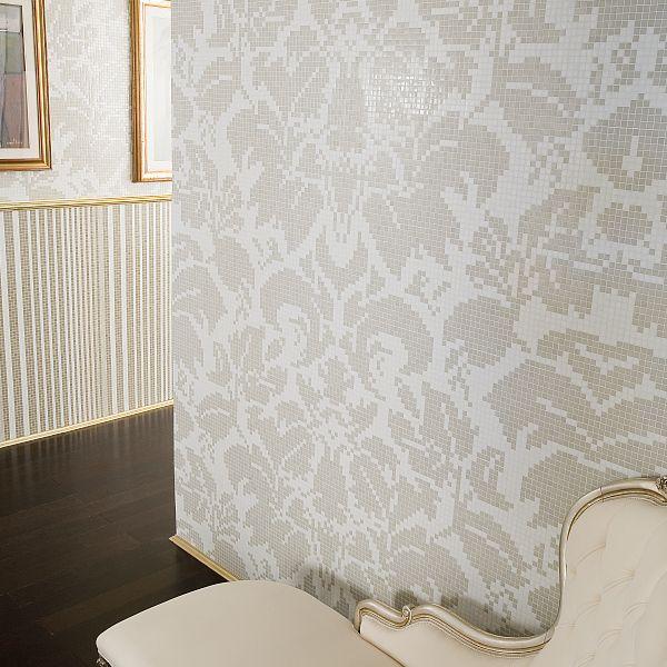 Trend Glass mosaic wallpaper by www