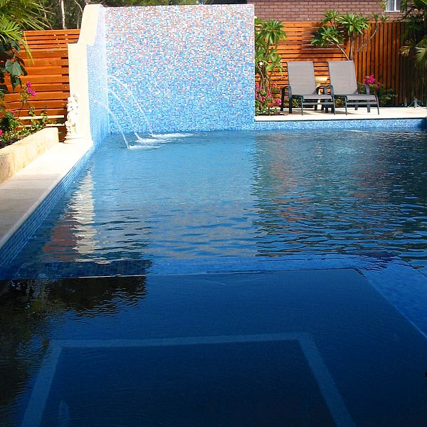 Custom Shading Blend glass mosaics Perth - Martin Cuthbert Landscapes 2