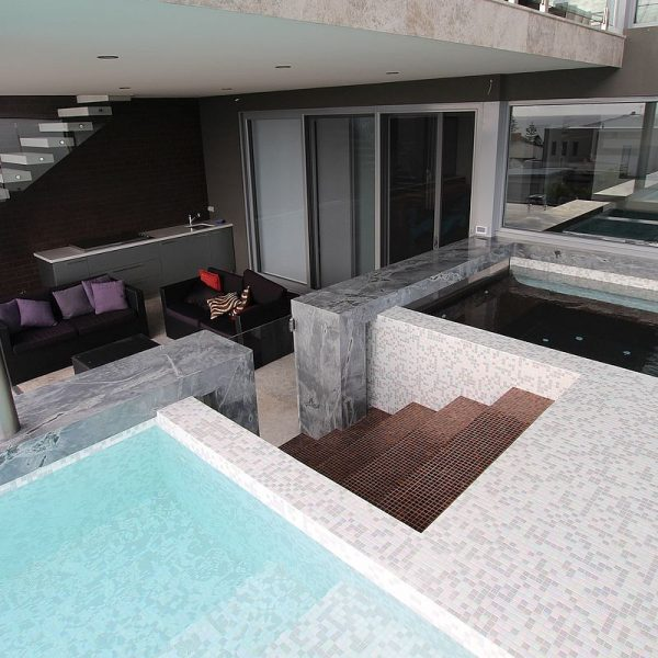 Trend Affinity Mix swimming pool glass mosaics perth western australia 16