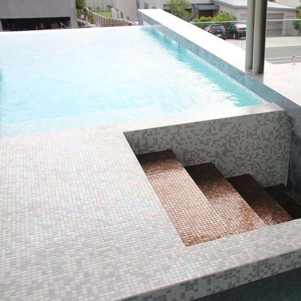 Trend Affinity Mix swimming pool glass mosaics perth western australia 6