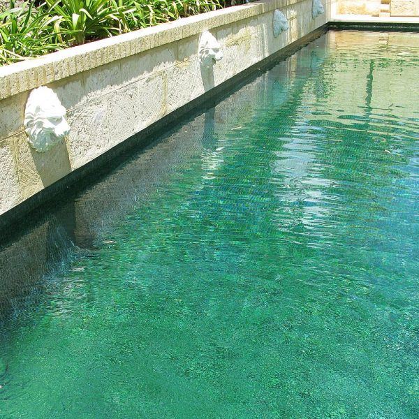 Trend Brillante 236 green swimming pool glass mosaics Perth 4