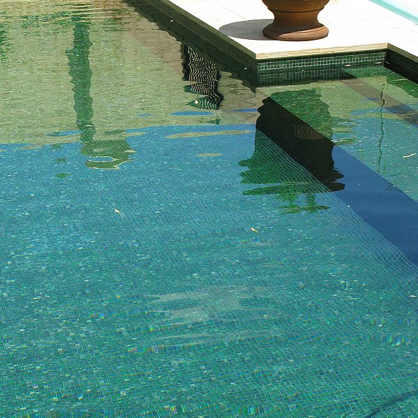 Trend Brillante 236 green swimming pool glass mosaics Perth