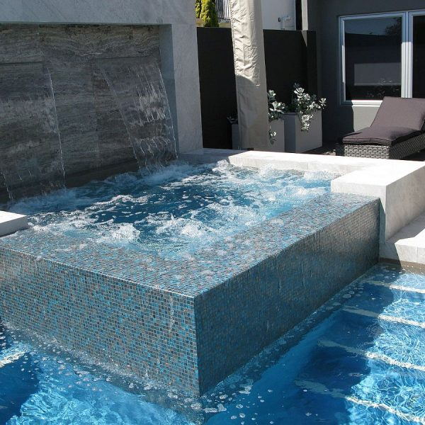 Trend Brillante 245 luxury swimming pool glass mosaics Perth by ctsupplies