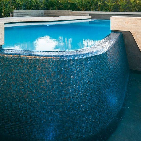 Trend Brillante 245 luxury swimming pool glass mosaics Perth by www