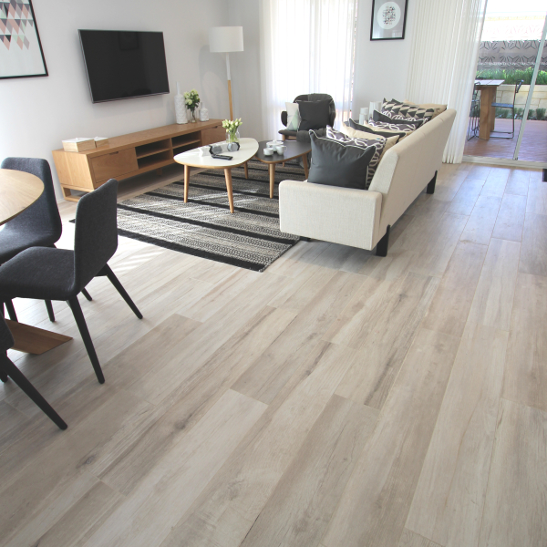 Supergres Travel North White timber look tiles Perth 10