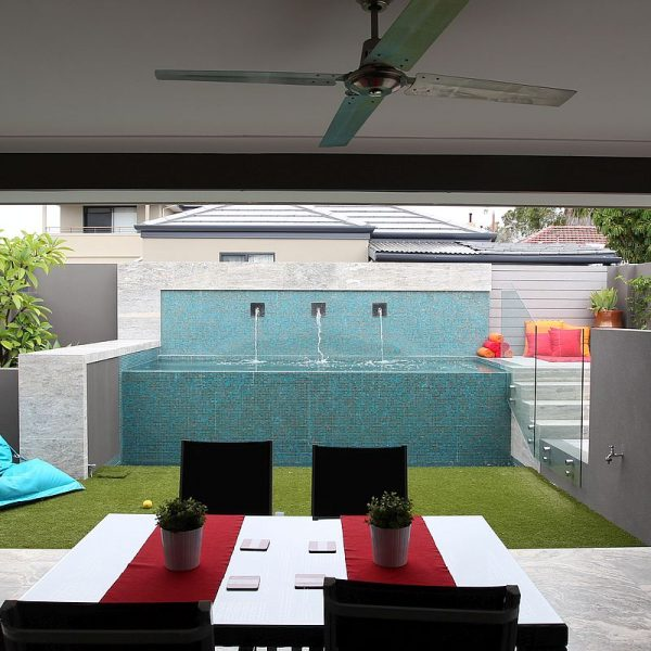 Luxury swimming pool glas mosaics perth www.ctsupplies.com.au