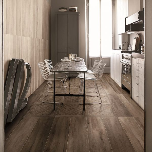 Supergres Travel West Brown timber look tiles Perth