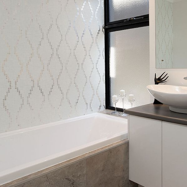 Trend glass mosaic wallpaper