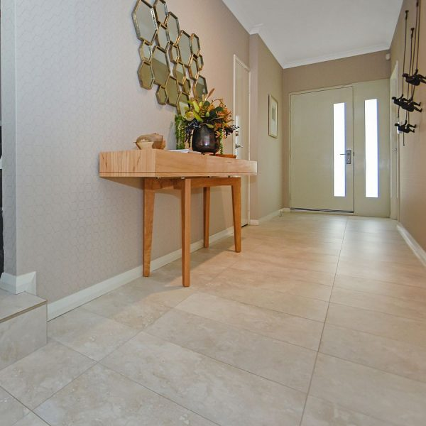 Unicom Renaissance Silver porcelain floor wall tiles Perth 5