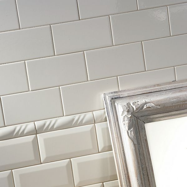 Victorian Bianco subway tiles