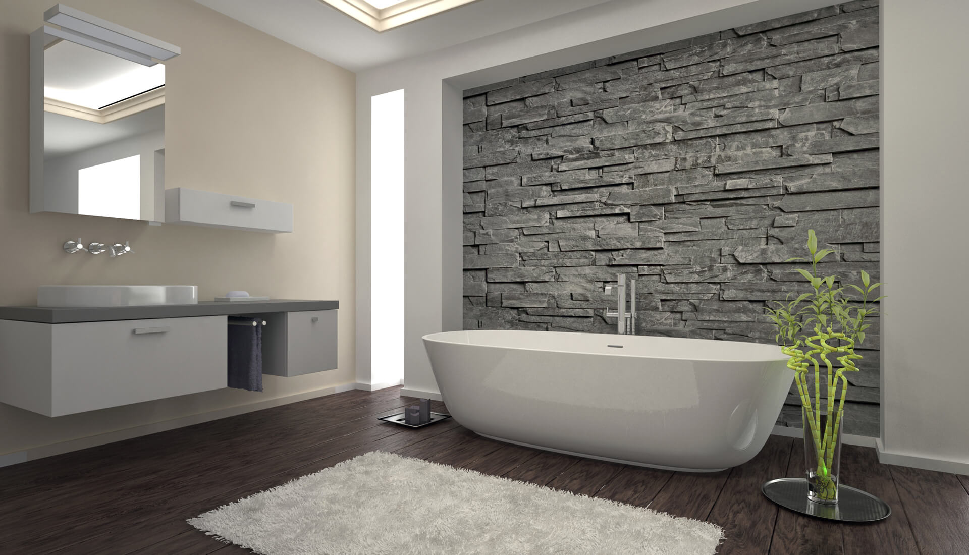 Creating the Perfect Bathroom Tile Feature Wall