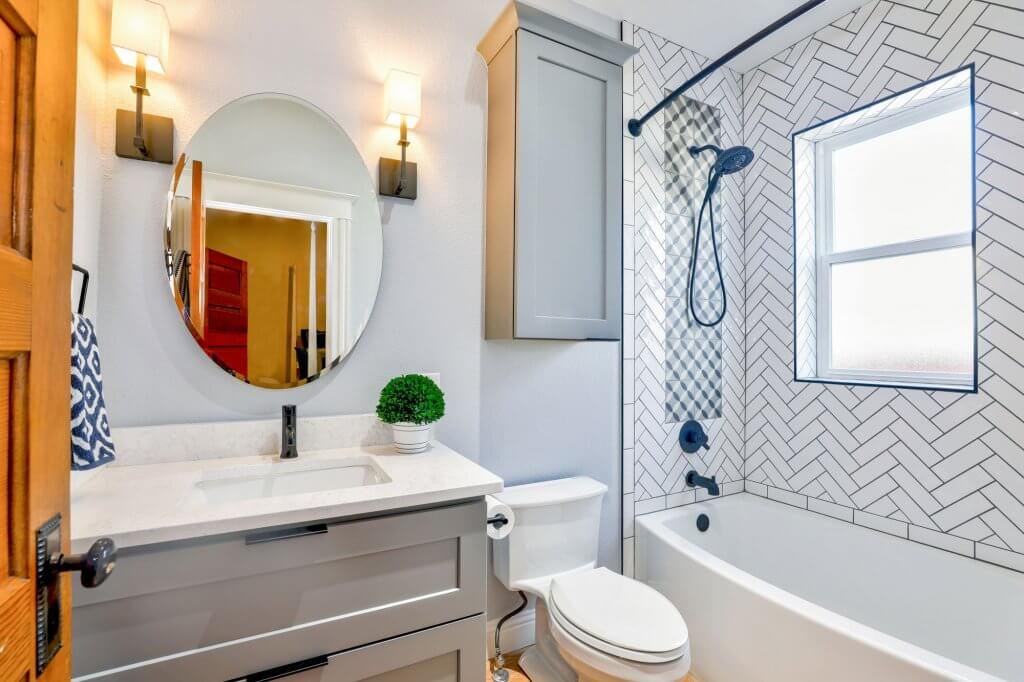 7 ideas to feature subway tiles in your bathroom or kitchen 8
